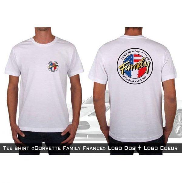 t-shirt Club Corvette Family France
